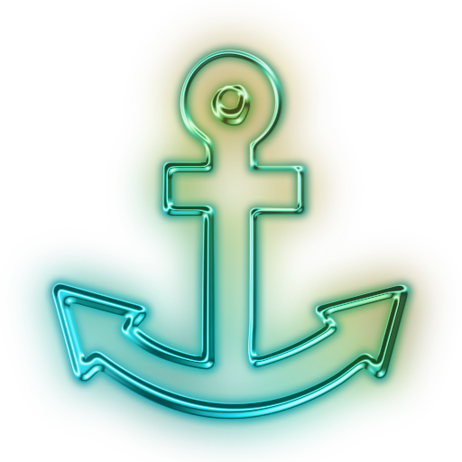 112478-glowing-green-neon-icon-transport-travel-anchor6-sc48