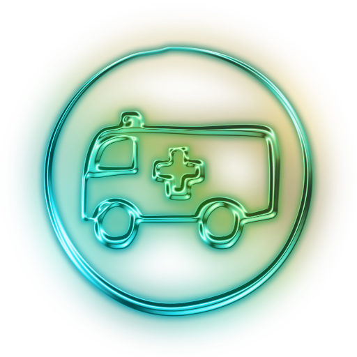 112544-glowing-green-neon-icon-transport-travel-transportation-rescue1-sc49